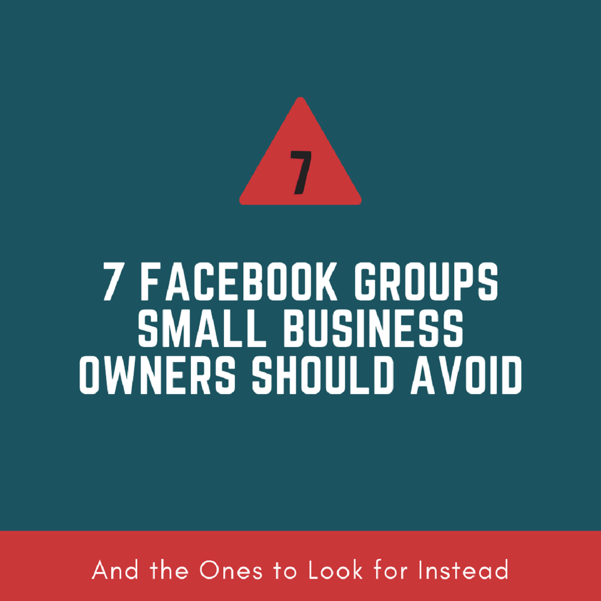 Read more about the article 7 Facebook Groups small business owners should avoid